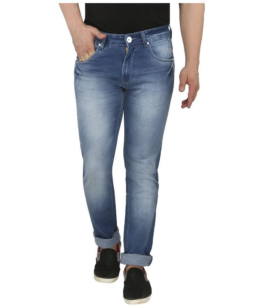 Louppee Blue Slim Fit Jeans