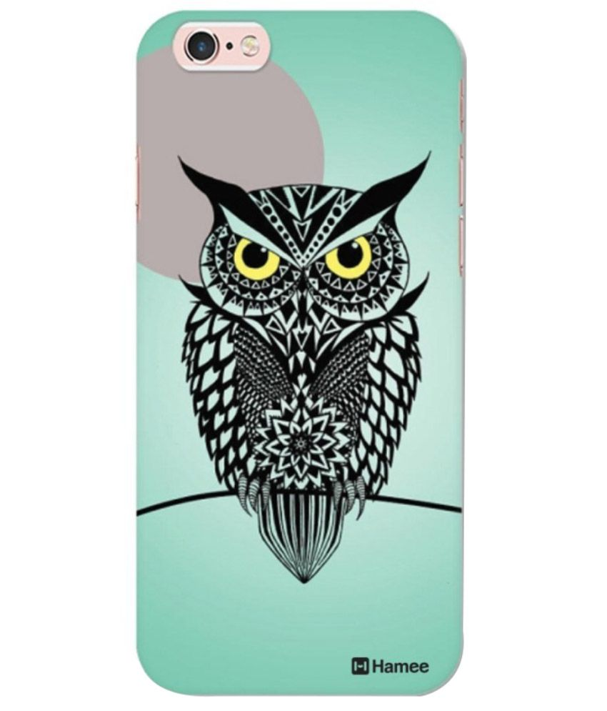 Apple Iphone 6s Printed Covers by Hamee - Green
