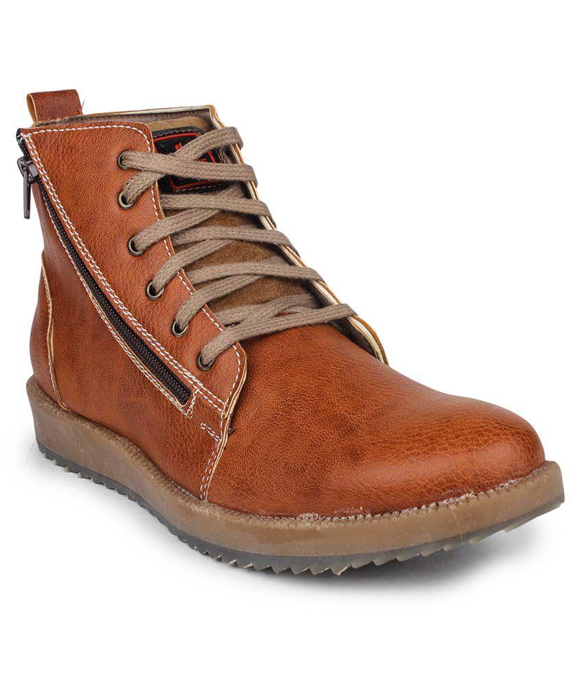 Columbus Tan Boots