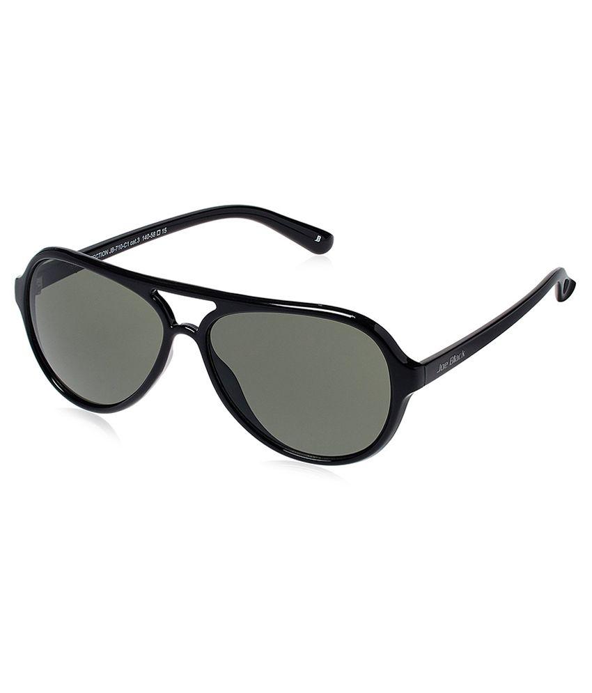 Joe Black - Green Pilot Sunglasses ( jb-710-c1 )
