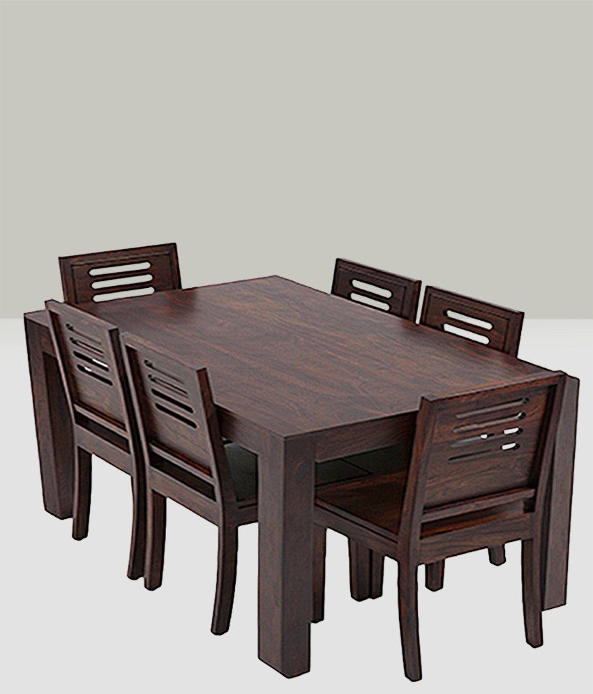 Anant Dining Set 6 Seater With Table Buy Anant Dining