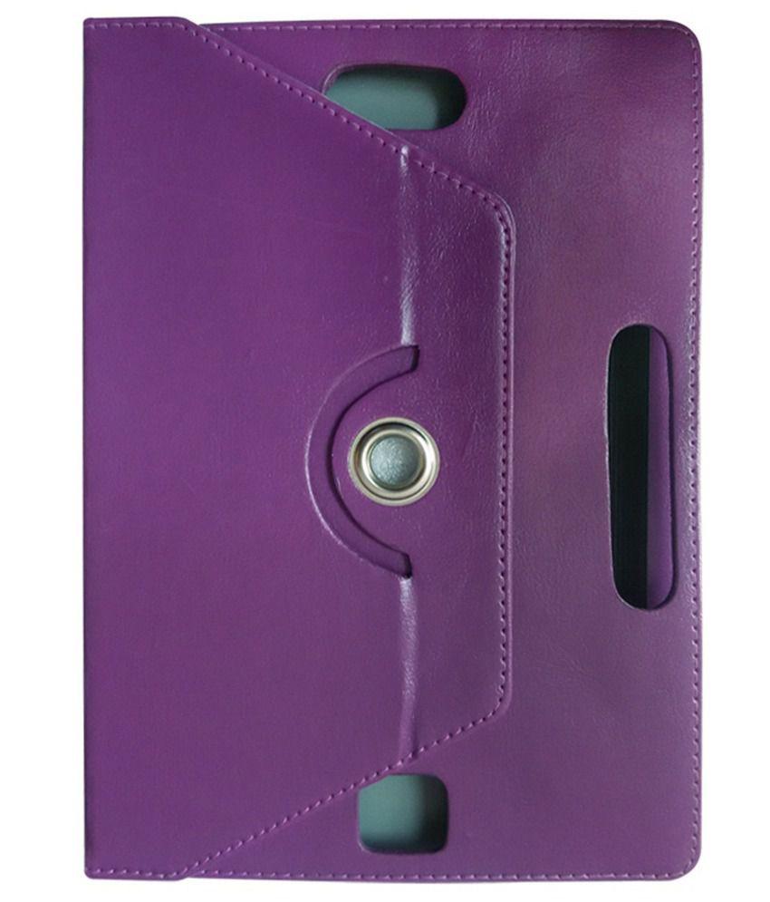 Fastway Flip Cover For Byond Laplet L9 Plus-purple