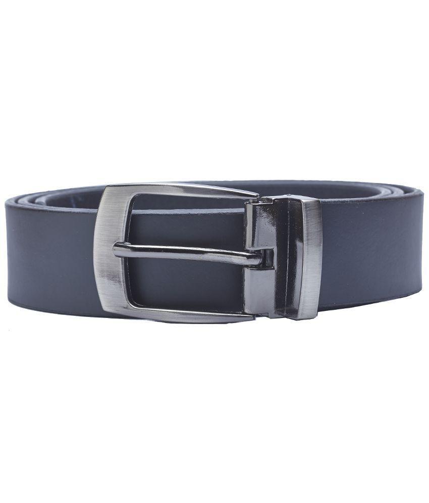 Sondagar Arts Black Formal Genuine Leather Belts for Men