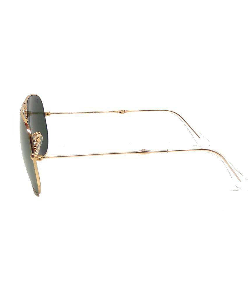 870cb71117b Ray-Ban Green Aviator Sunglasses (RB3479 001 58 58-14) - Buy Ray-Ban ...