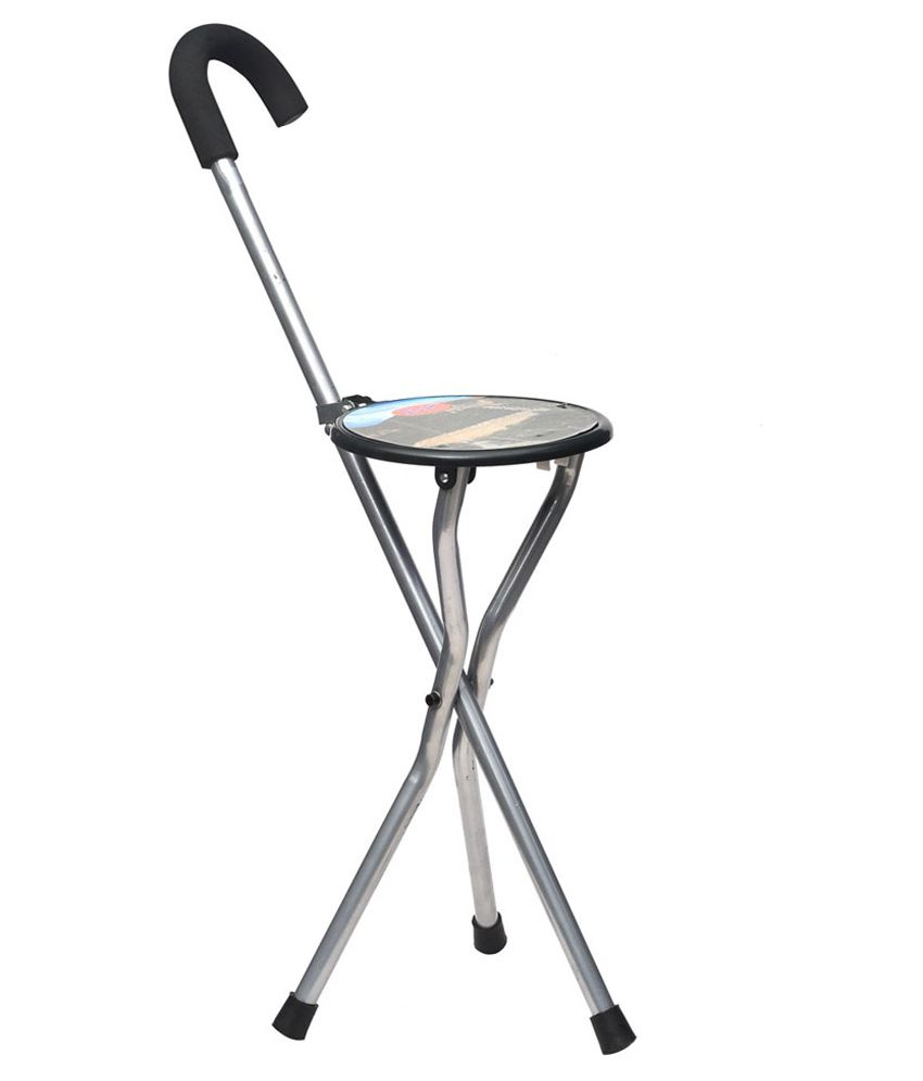 hawai comfortable walking stick cum chair buy online at best price rh snapdeal com