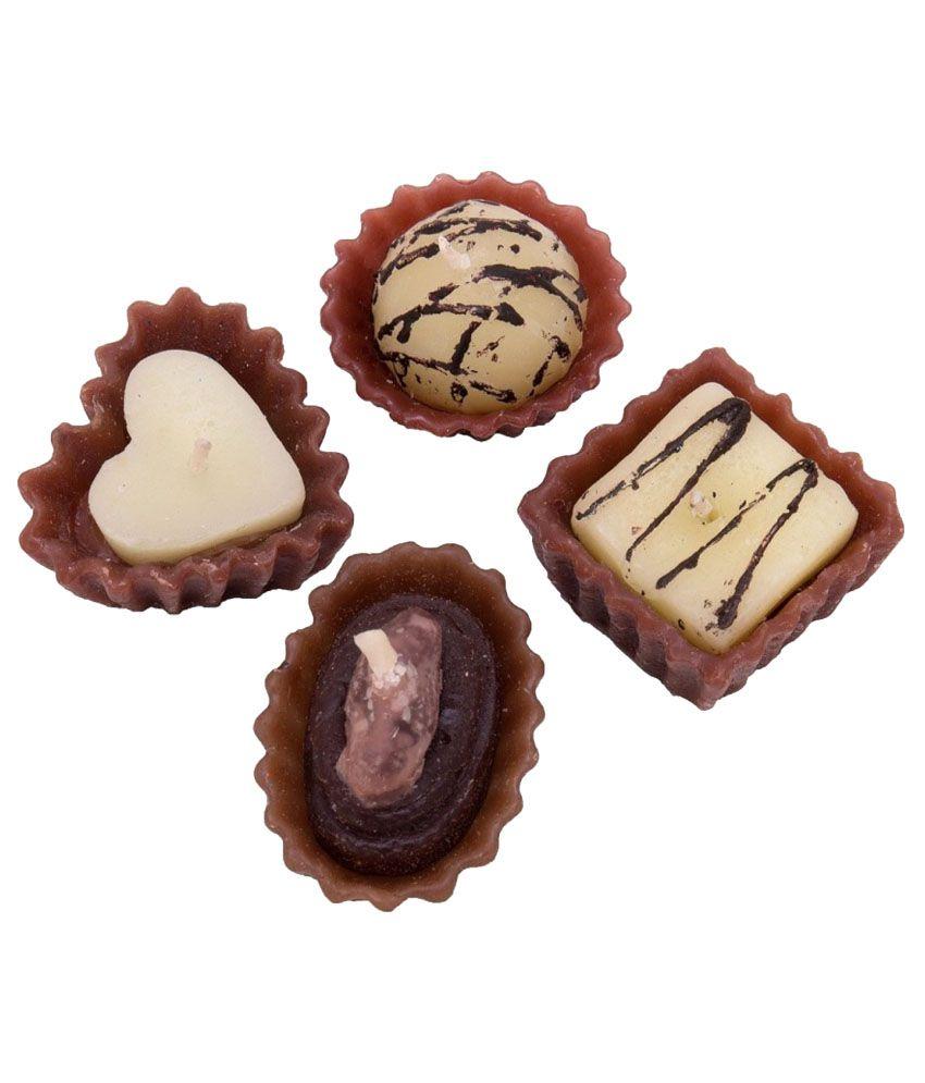 Peepalcomm Brown Wax Tart Pack of 4