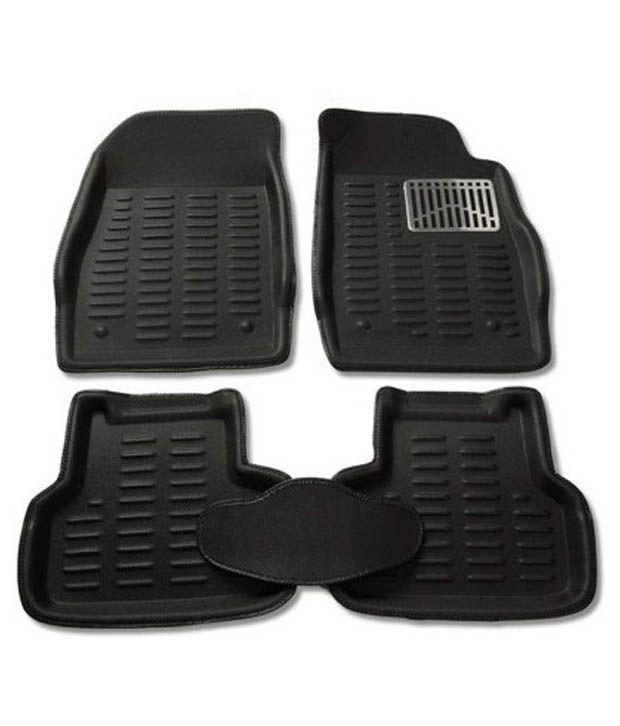 Grey Car Foot Mats For Toyota Etios Liva Buy: Pegasus Premium Black 3d Car Mats For Ford Ecosport: Buy