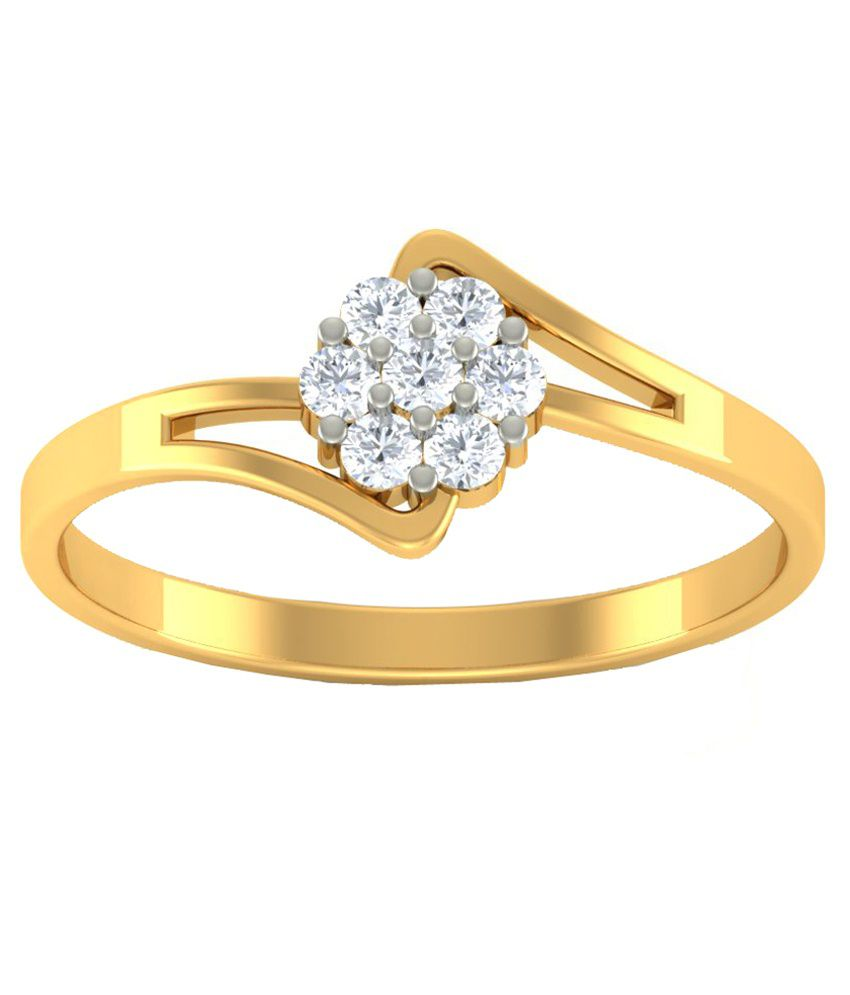 Diaonj 14kt Gold Ring