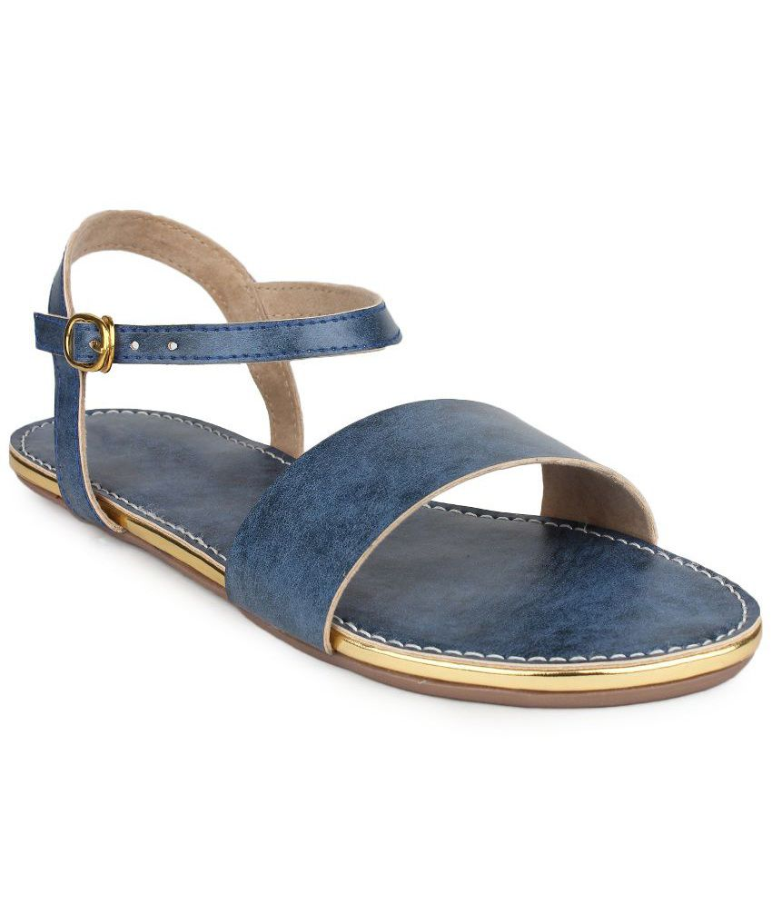 b09ac4eaf Do Bhai Blue Sandals Price in India- Buy Do Bhai Blue Sandals Online at  Snapdeal