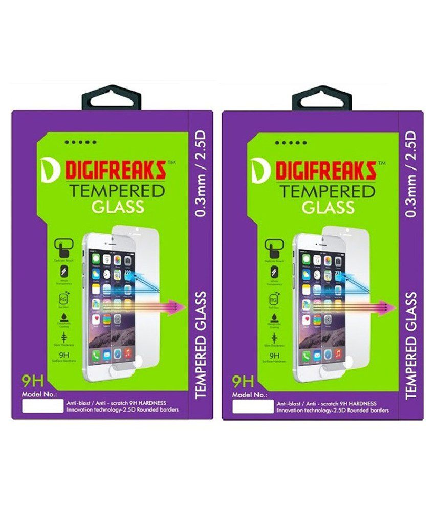 Lenovo A2010 Tempered Glass Screen Guard by Digifreaks