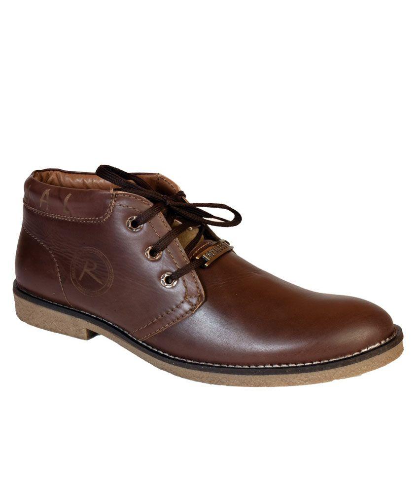 Sahab Ji Travelers Fashion Brown Boots
