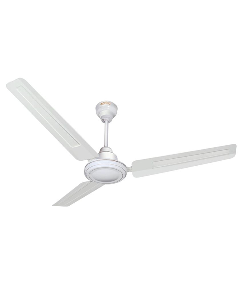 Price To Install Ceiling Fan: Activa 1200 Mm 5 Star Bold Ceiling Fan-White Price In