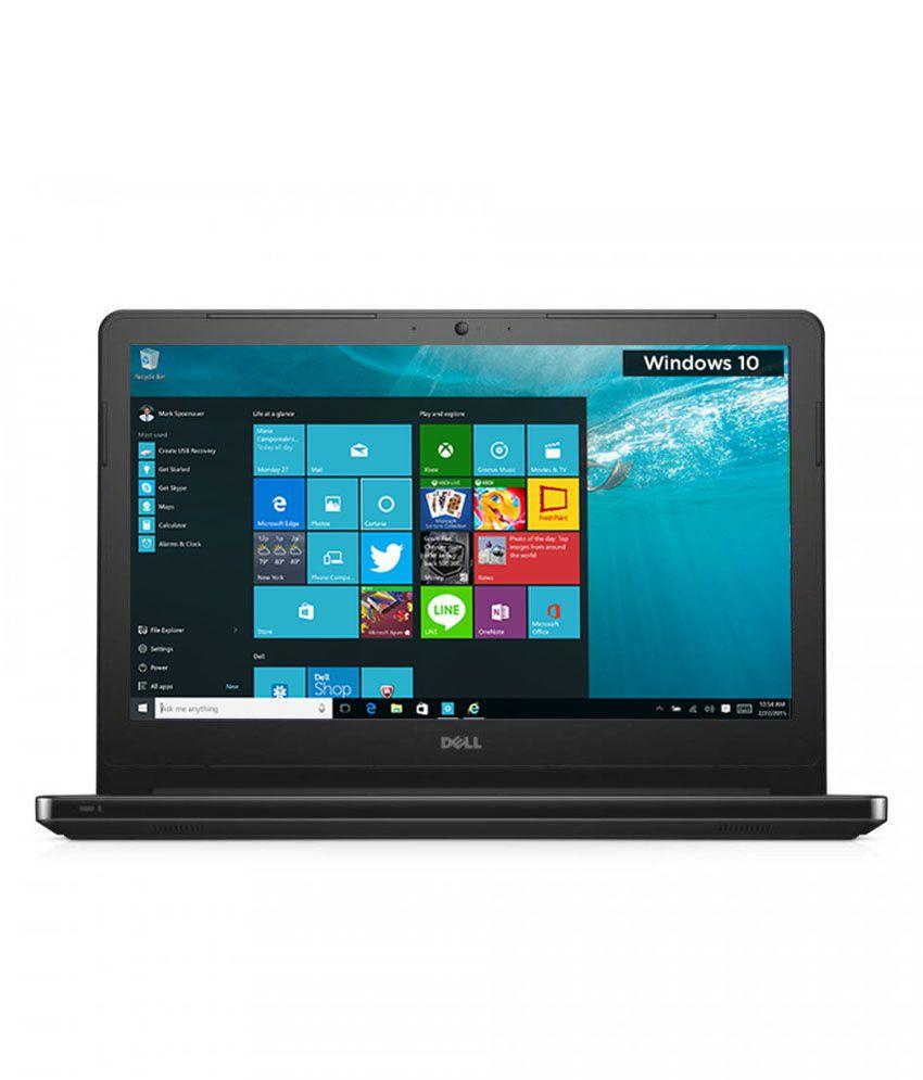 Dell Vostro 14 3458 Notebook (Y554505HIN9) (4th Gen Intel Core i3- 4GB RAM- 500GB HDD- 35.56 cm (14)- Windows 10) (Black)