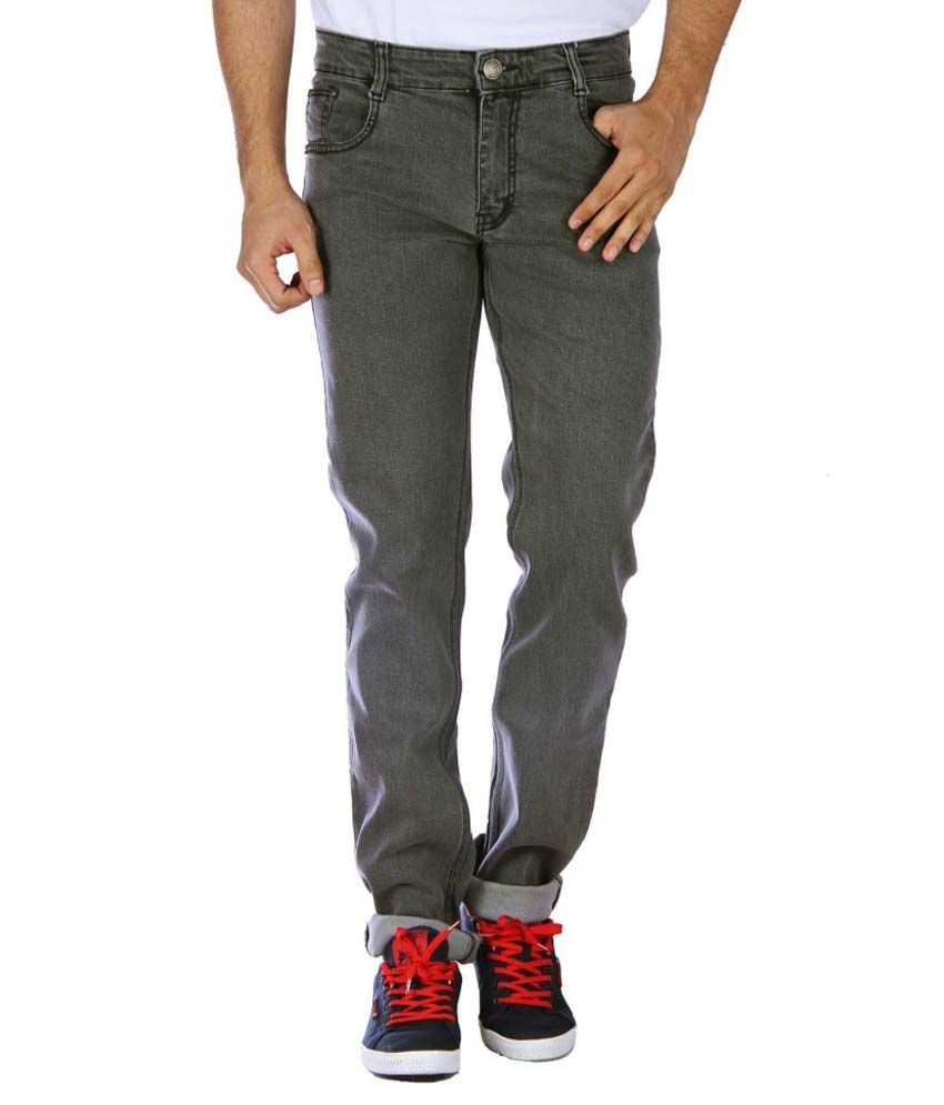 Studio Nexx Grey Regular Fit Jeans