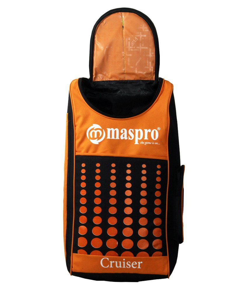 c78a41d874b Maspro Cruiser Cricket Kit Bag-orange   Black  Buy Online at Best ...