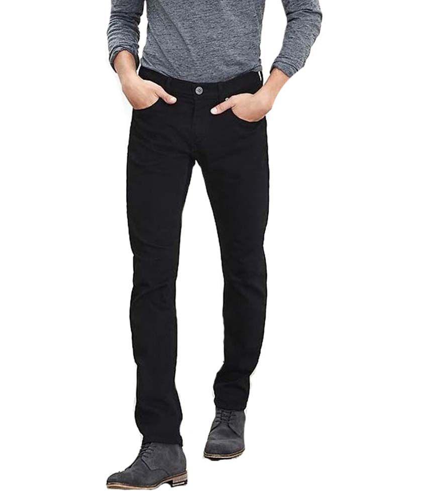 Kafe Jeans Newyork Black Slim Fit Jeans