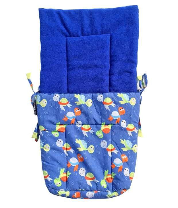 Wobbly Walk Blue Baby Sleeping Bag
