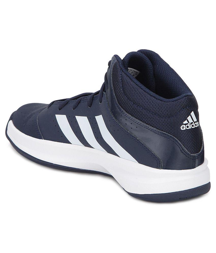 adidas isolation 2 navy blue basketball shoes