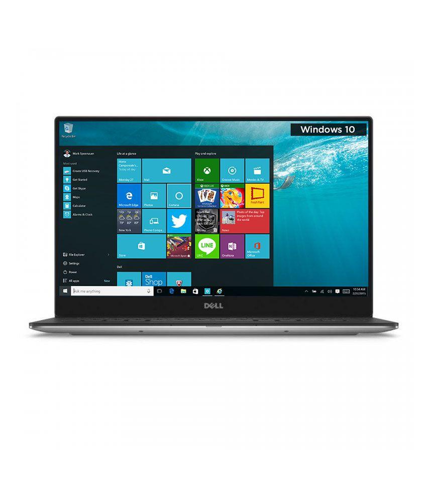 Dell XPS 13 Notebook (Z560034HIN9) (6th Gen Intel Core i5- 4GB RAM- 128GB SSD- 33.78 cm (13.3)- Windows 10) (Silver)