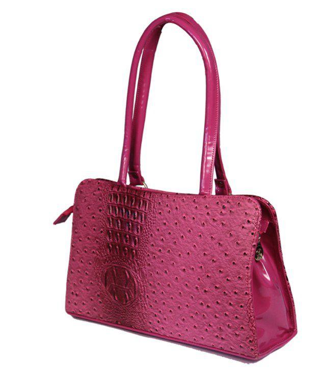 41377b051b2a Fl Rt Pink Partywear Synthetic Shoulder Bag Cum Handbag - Buy Fl Rt ...