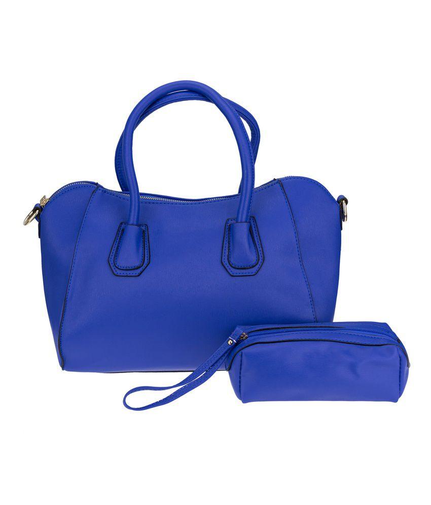 Kaos Blue P.u. Shoulder Bag