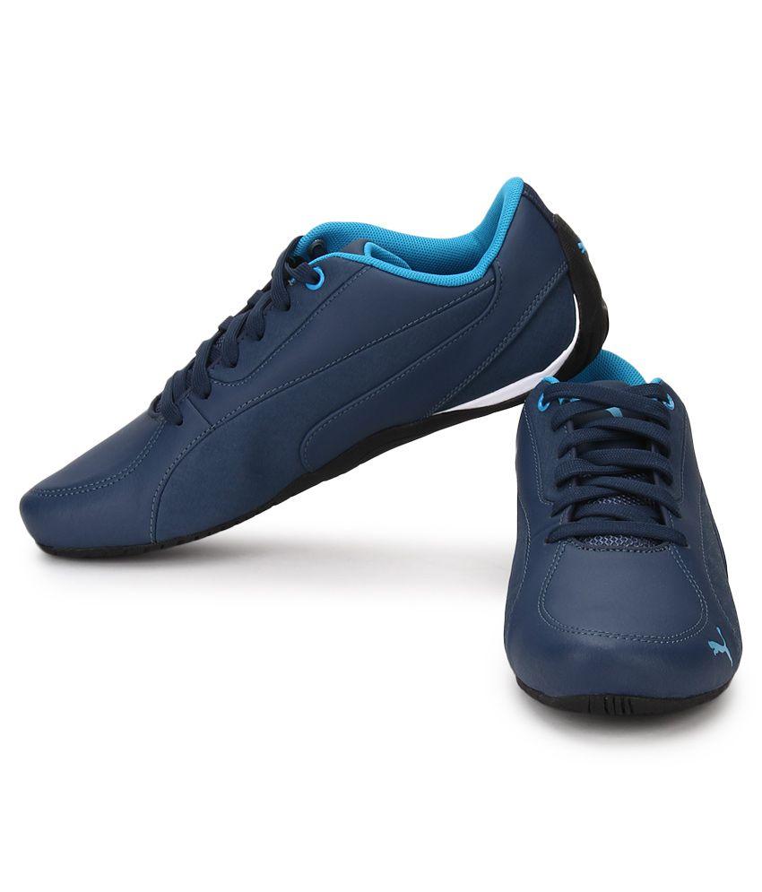 Puma Drift Cat 5 Blue Lifestyle Casual Shoes - Buy Puma Drift Cat 5 ... 427f58d62