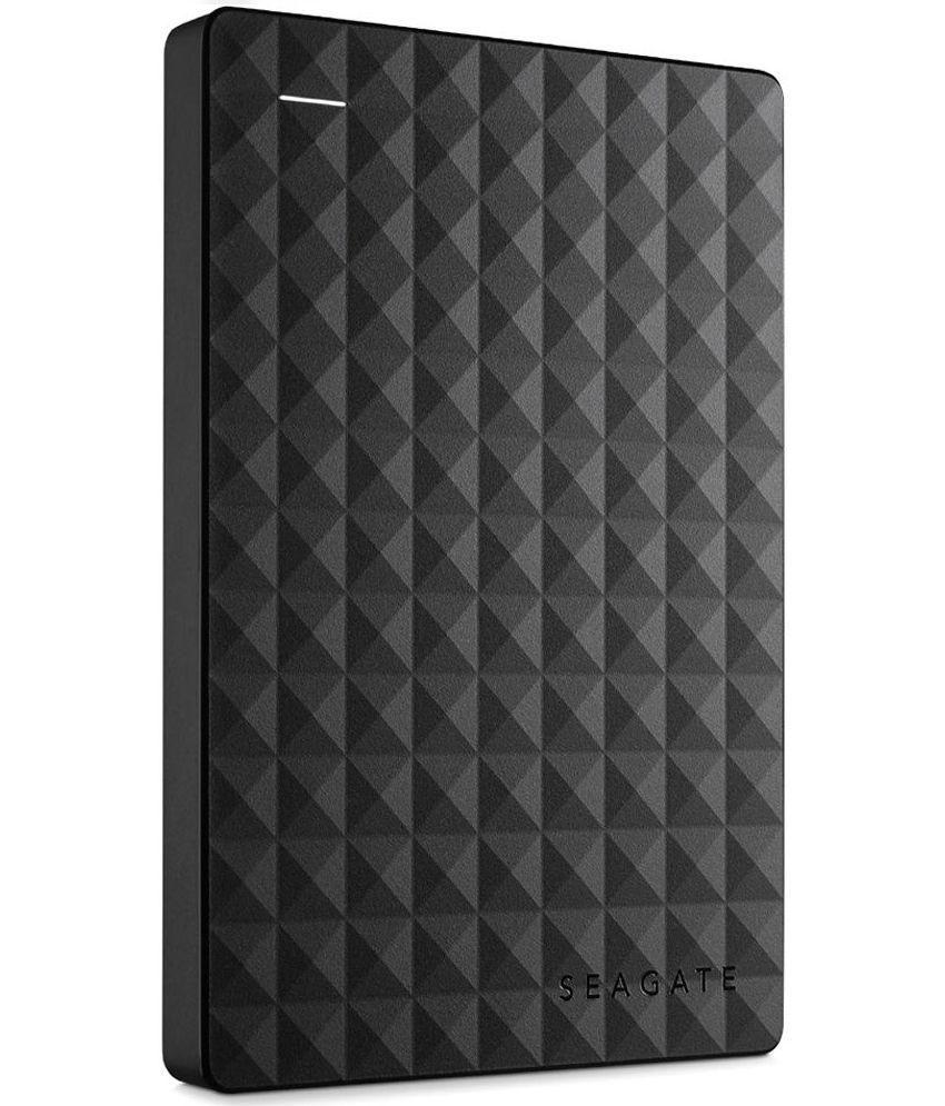 Seagate 1 TB External Hard Disk - Black