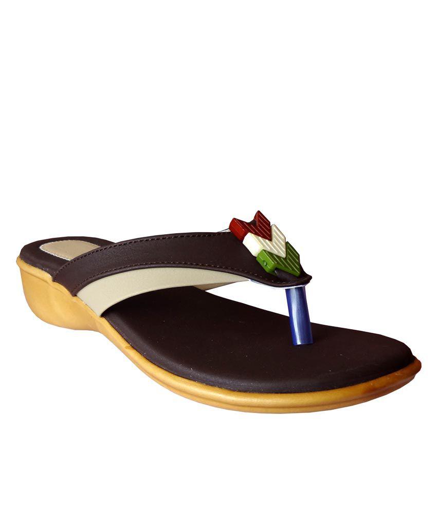 GrandStone Brown Wedges Heels