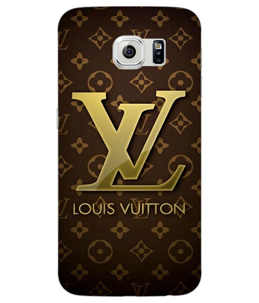 online retailer ab3b6 a1135 1 Crazy Designer Louis Vuitton Lv Back Cover For Samsung S6 Edge -  Multicolour