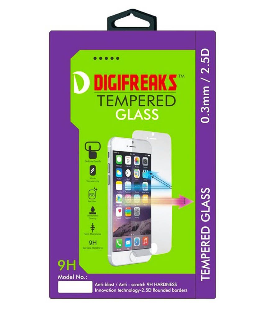 Samsung Galaxy J1 Tempered Glass  Screen Guard by Digifreaks