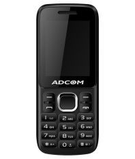 Adcom C1 CDMA 1.8 inch phone-Black & Red