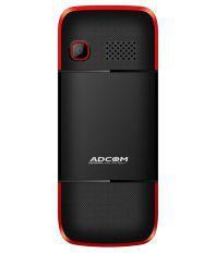 Adcom C1 CDMA 1.8 inch phone-Black & Red