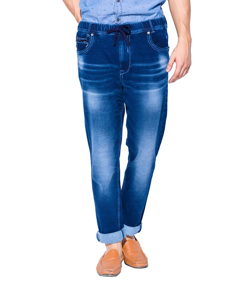 Mufti Blue Regular Fit Jeans