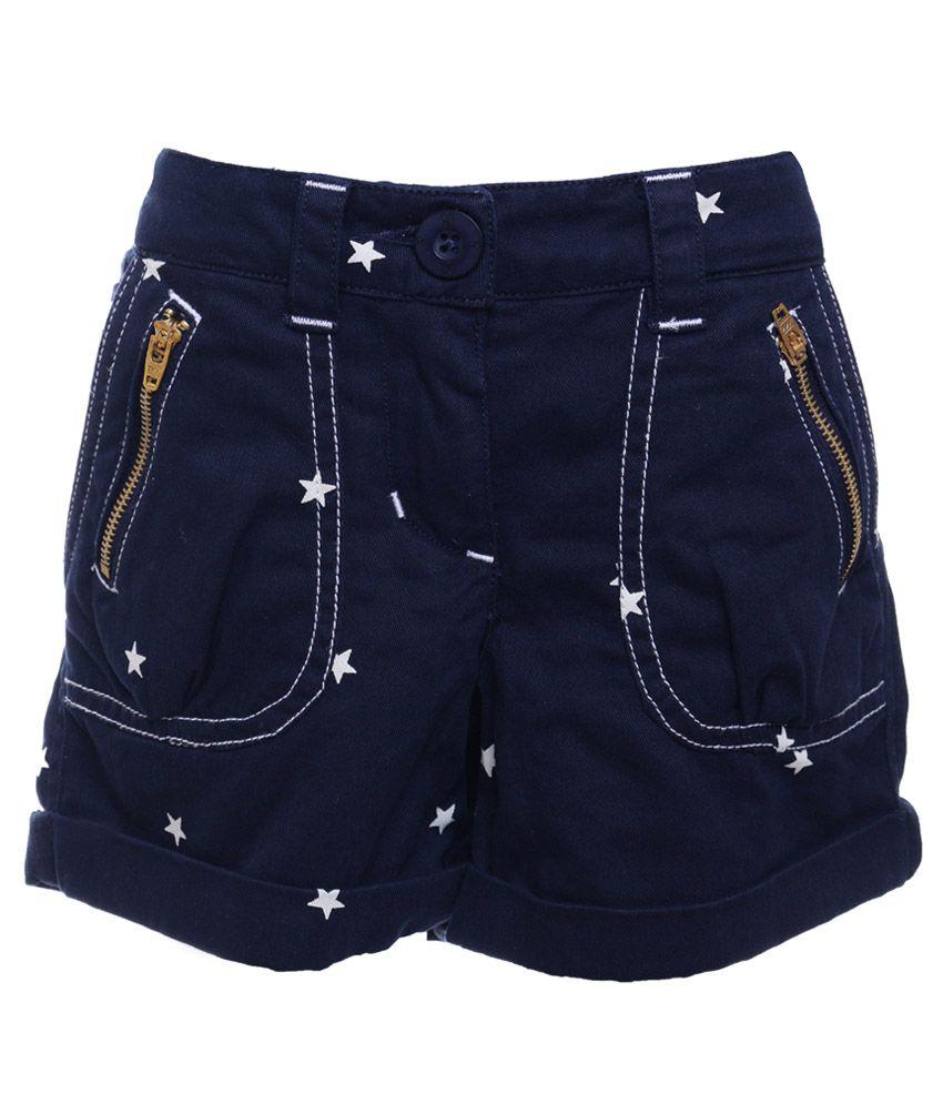 UFO Navy Shorts