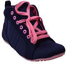 Hansx Blue Casual Shoes