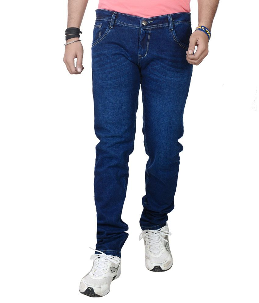S4u Blue Slim Fit Jeans