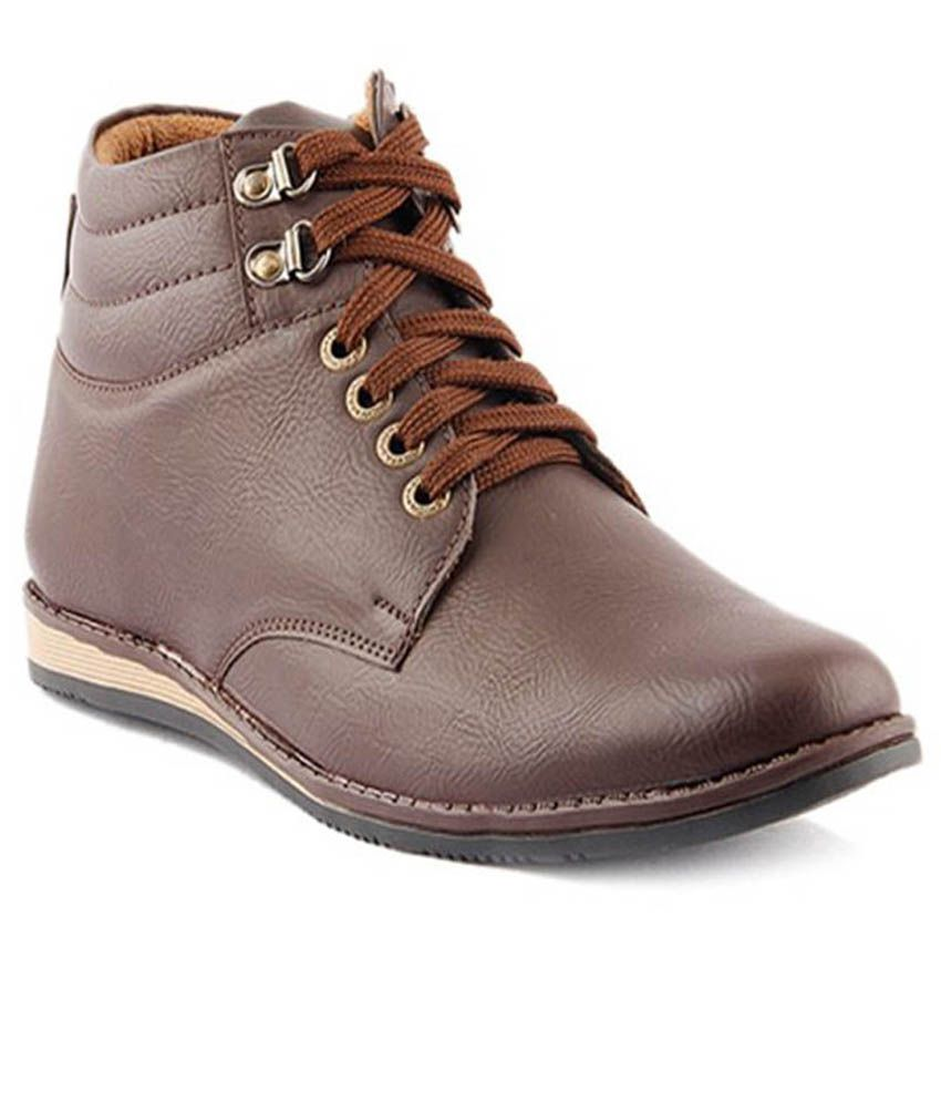 Knight Ace Brown Boots