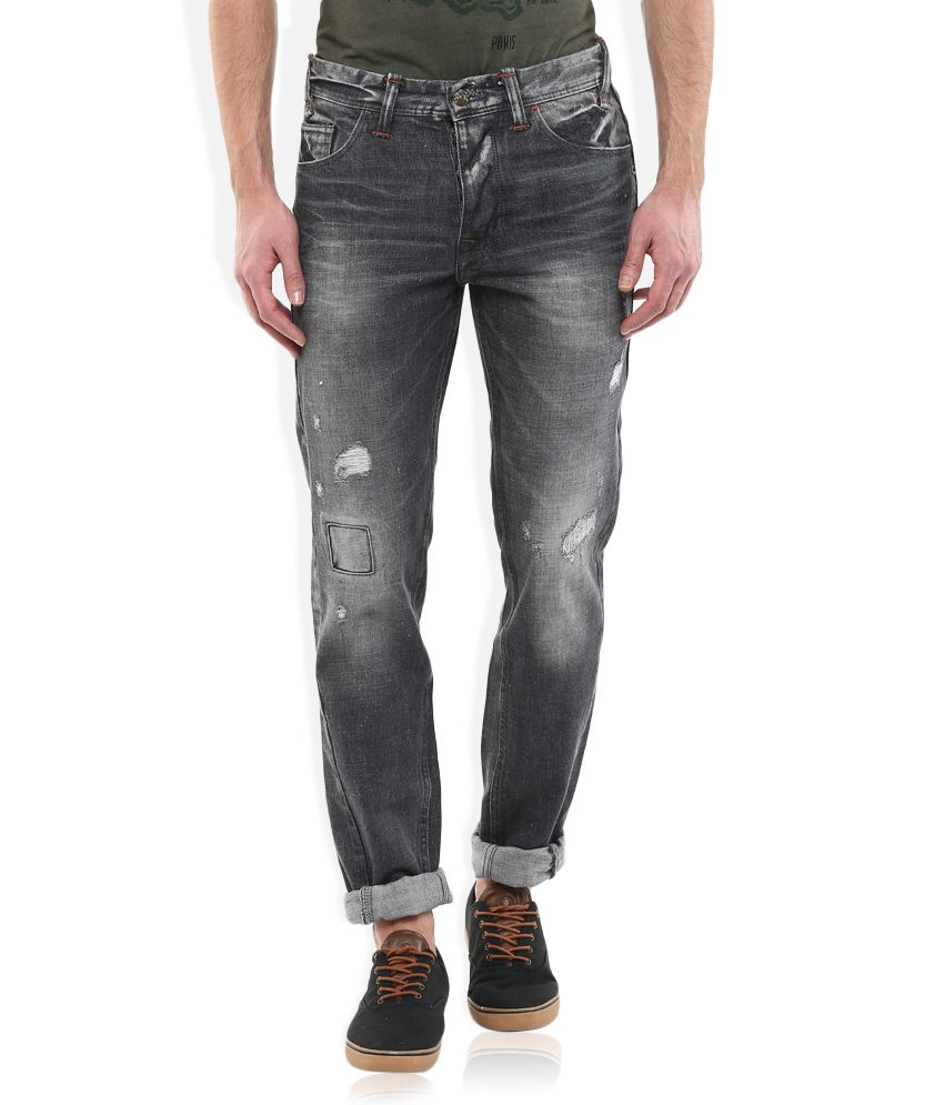 Unbox Diwali!! Min. 50% Off On Jeans- Spyker/ Lee & More By Snapdeal | Celio Grey Slim Fit Jeans @ Rs.1,040
