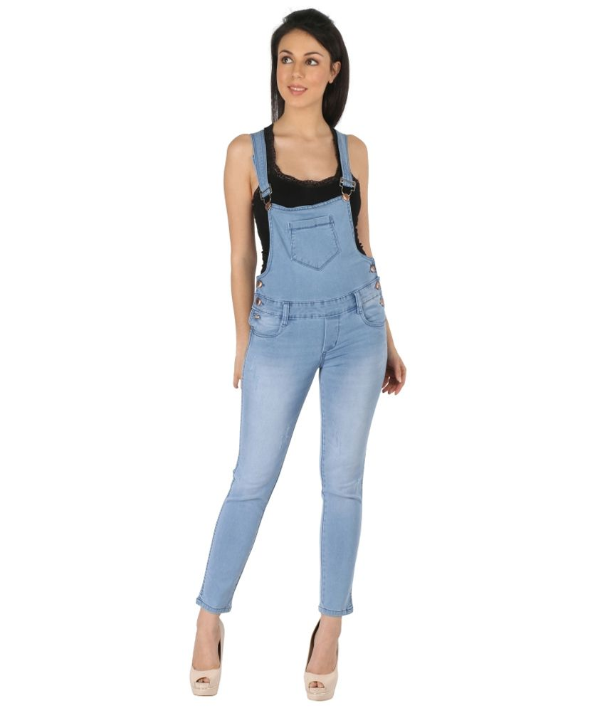 Fungus Blue Denim Jumpsuits - Buy Fungus Blue Denim Jumpsuits ...