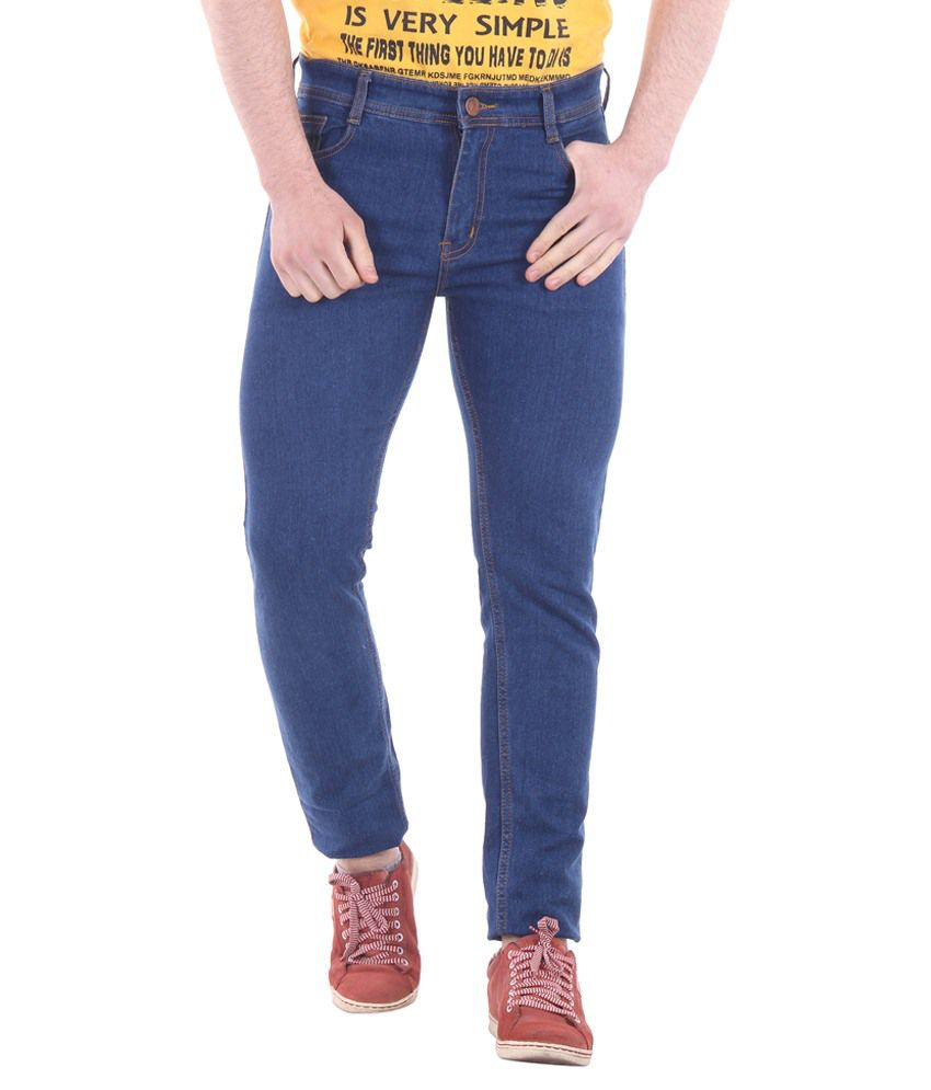 Mint Evolution Blue Slim Fit Jeans