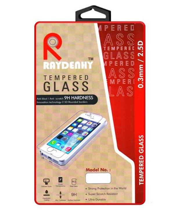 Lenovo A5000 Tempered Glass Screen Guard by Raydenhy