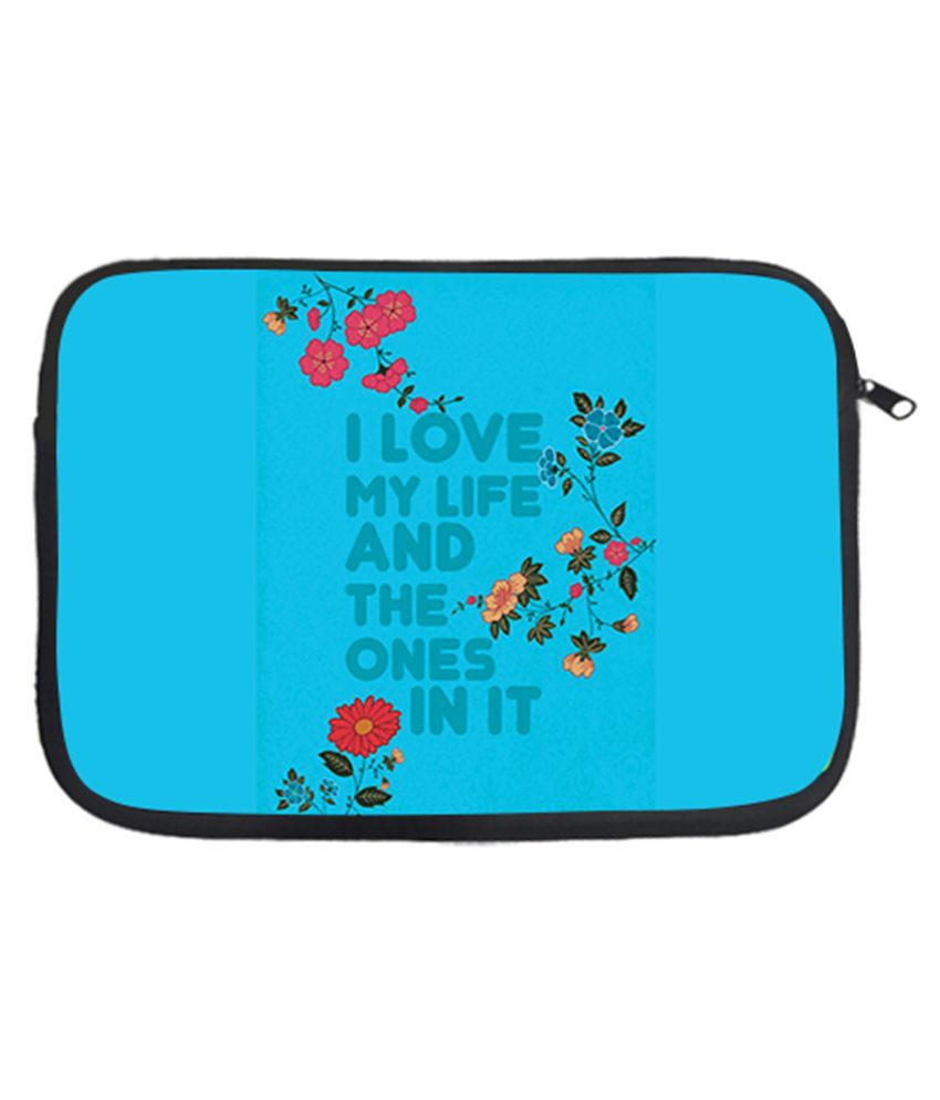 Via Flowers Laptop Sleeves - Multicolour