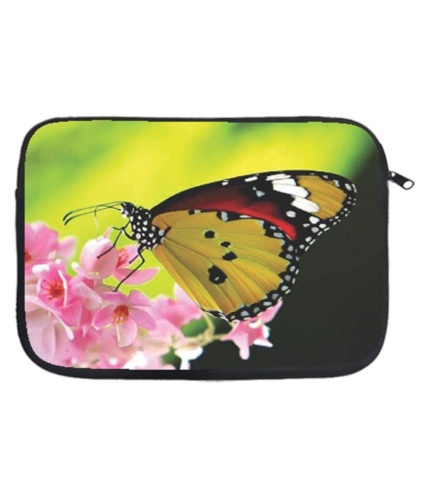 Via Flowers Laptop Sleeves - Multicolour
