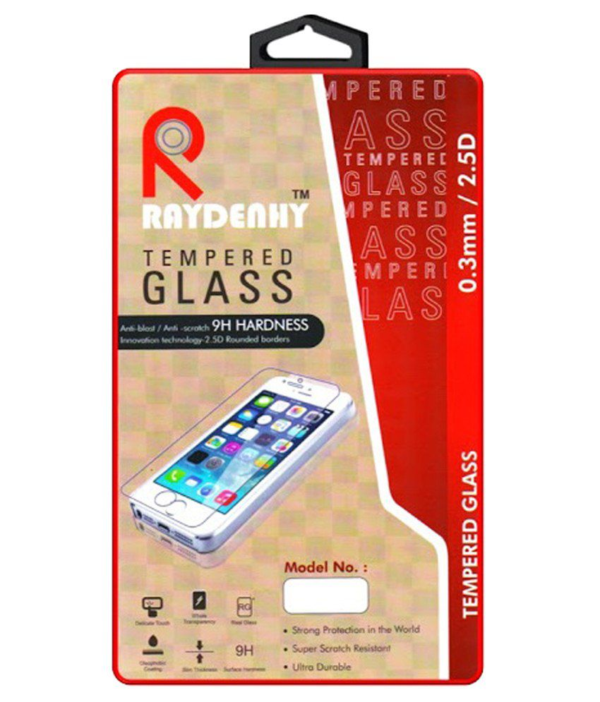Lenovo A6000 Tempered Glass Screen Guard by Raydenhy