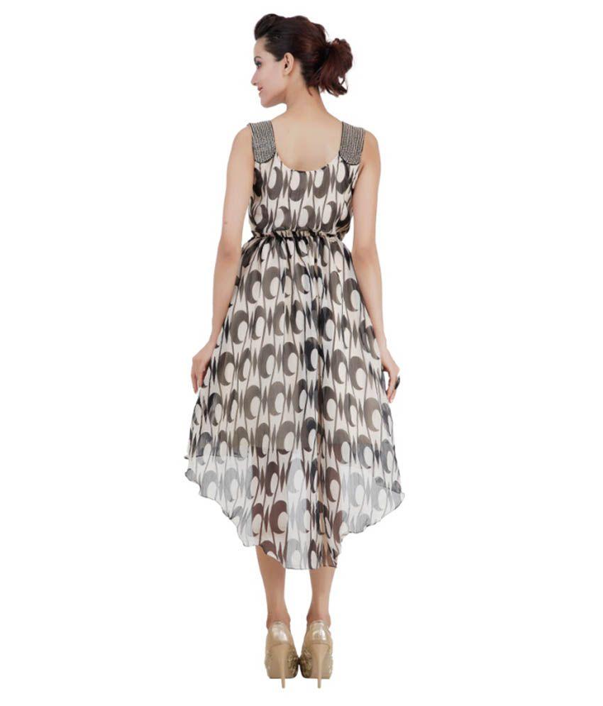 31e042c4c322 Pret A Porter Beige Chiffon Dresses - Buy Pret A Porter Beige ...
