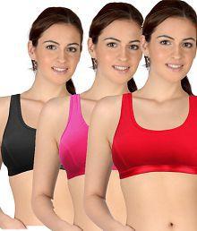 Selfcare Set Of 3 Women's Sports Bras