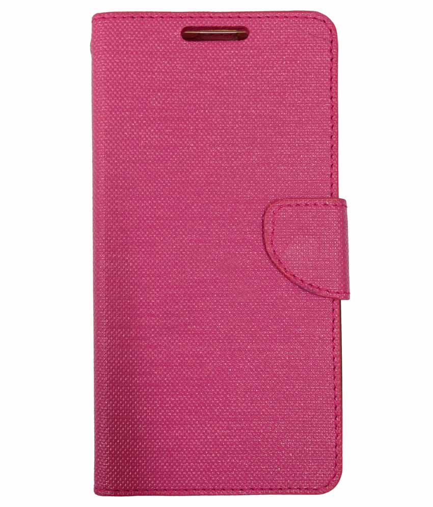 premium selection 623a2 569f8 Fabson Flip Cover For Coolpad Note 3 Lite - Pink