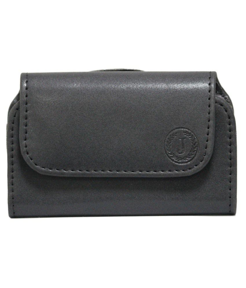 Jo Jo Mobile Pouch Cover For Zopo Speed 7 Plus-black