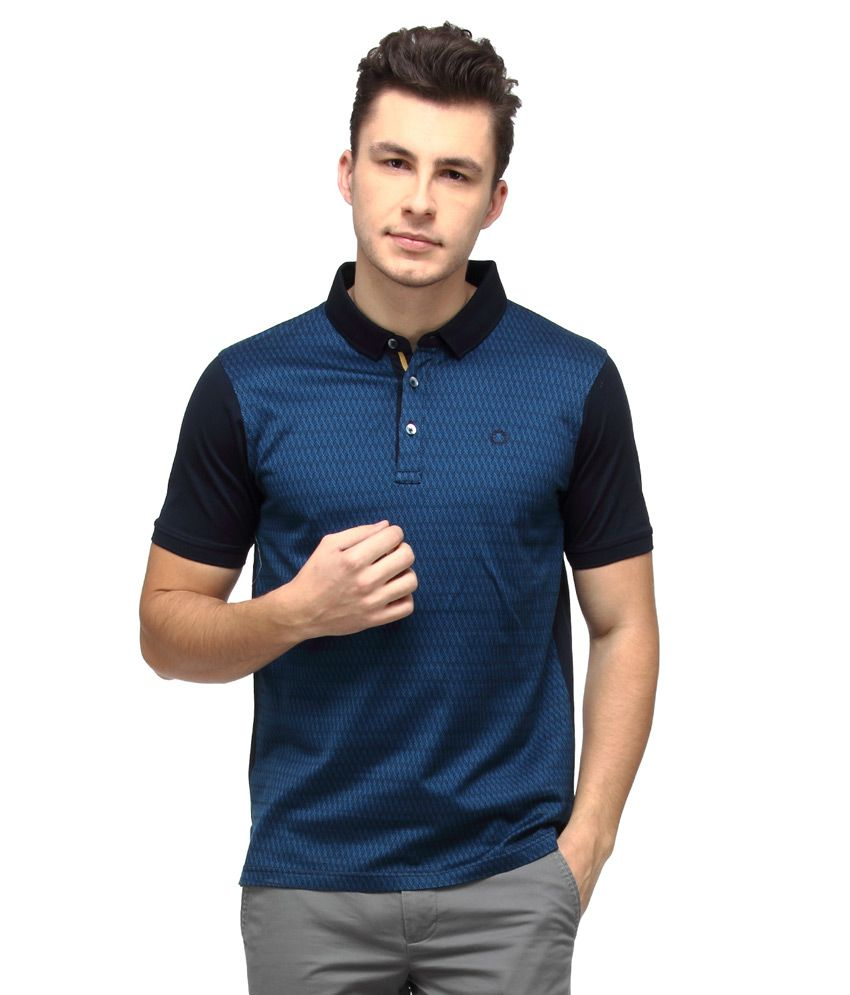 Proline Navy Half Sleeves Polo T-Shirt