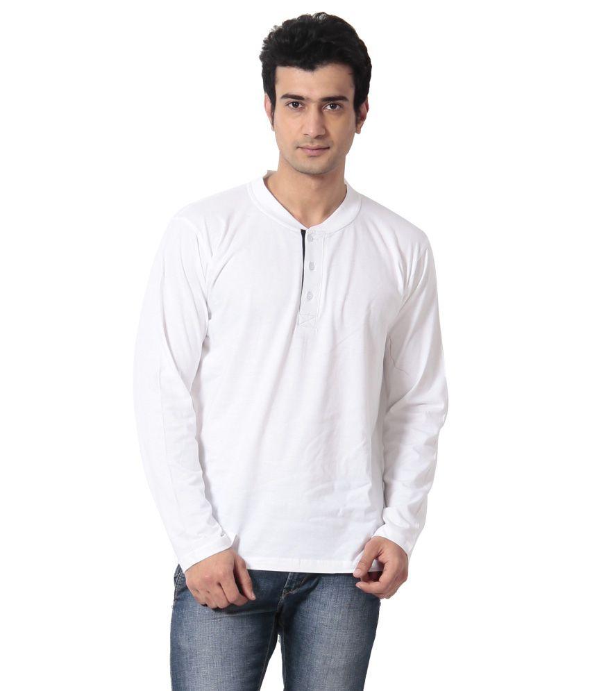 Leana White Henley T-shirt